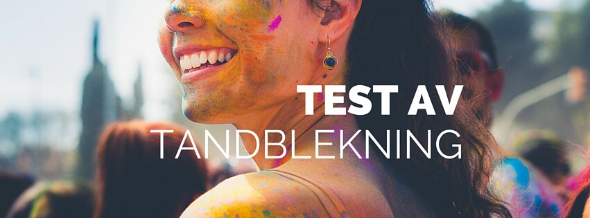 tandblekning bäst i test på vita tanden