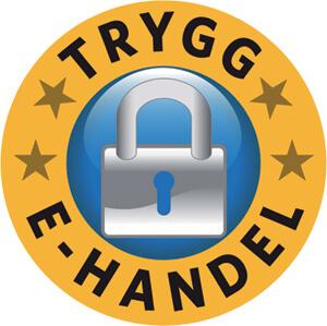 Trygg e-handel logo vitatanden