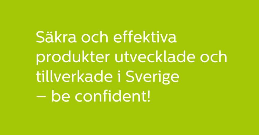 be confident med svensk tandblekning