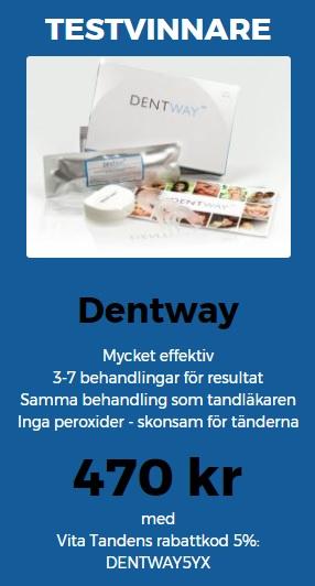 Test av Sveriges bästa tandblekning 2017