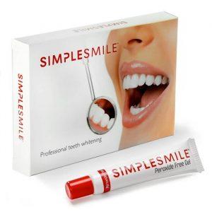 Simple Smiles tandblekningsgel som säljs för 249kr på deras hemsida. Missa inte vår rabattkod för att får 10% på köpet.