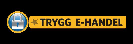 Trygg E-handels certifiering för ett säkert köp.
