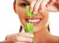 Tandblekning med Aloe Vera för vita tänder